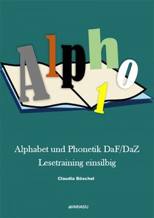 Buch Alpho 1: Alphabet und Phonetik