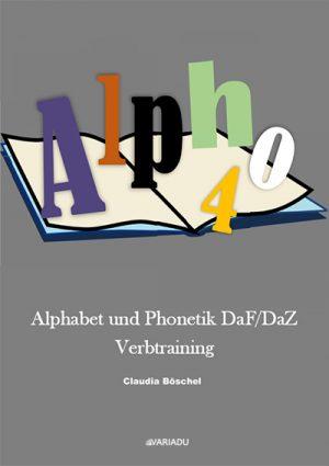 Buch Alpho 4 Alphabet und Phonetik Verbtraining