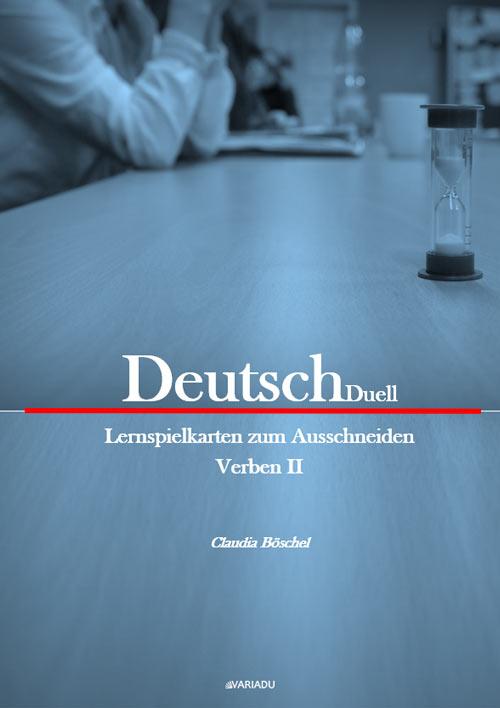 DeutschDuell: Lernspielkarten zum Ausschneiden Verben 2